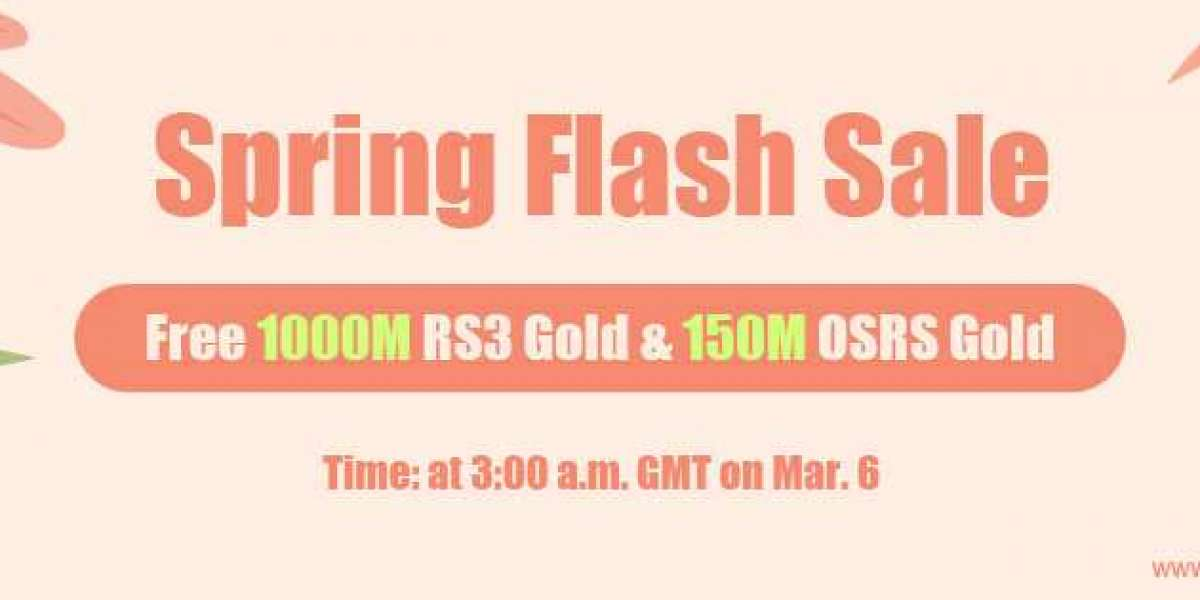 Free 1000M legit runescape gold as RS3gold 2020 Spring Flash Sale Mar.6