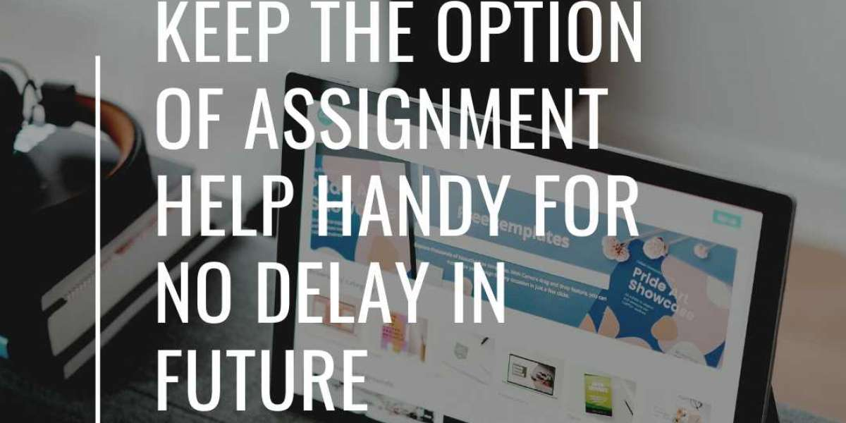 Keep The Option Of Assignment Help Handy For No Delay In Future