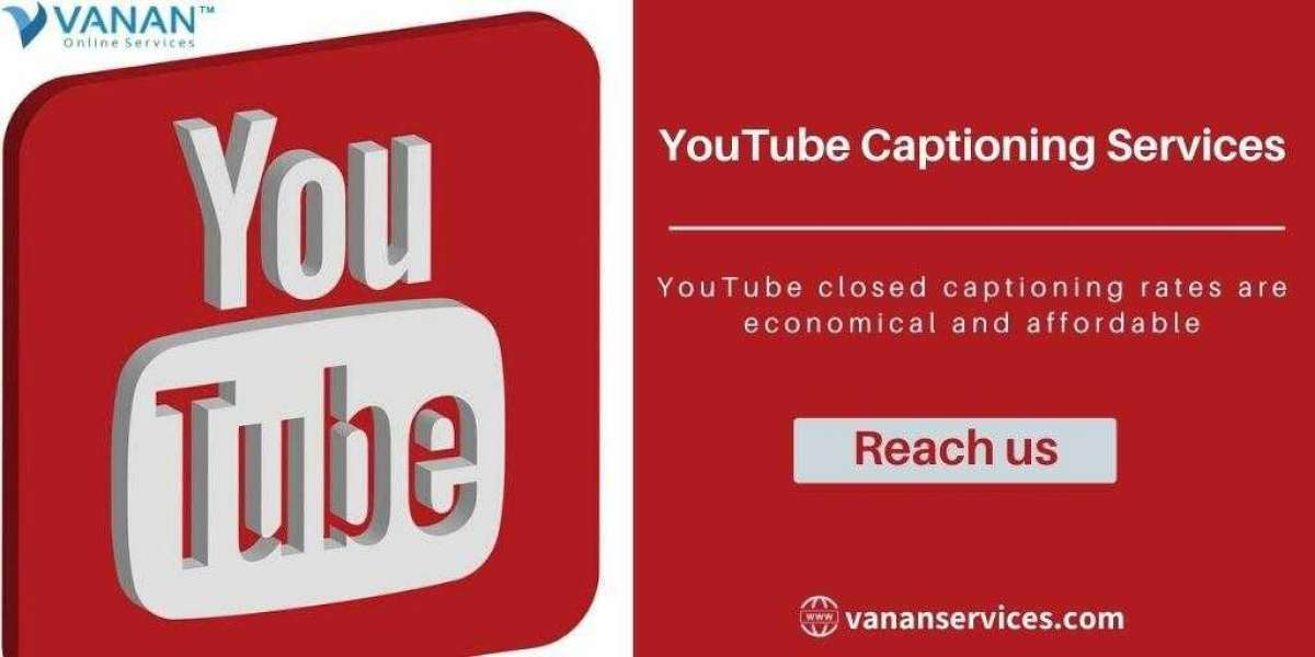 Best Online Youtube Captioning Services from Vanan Services
