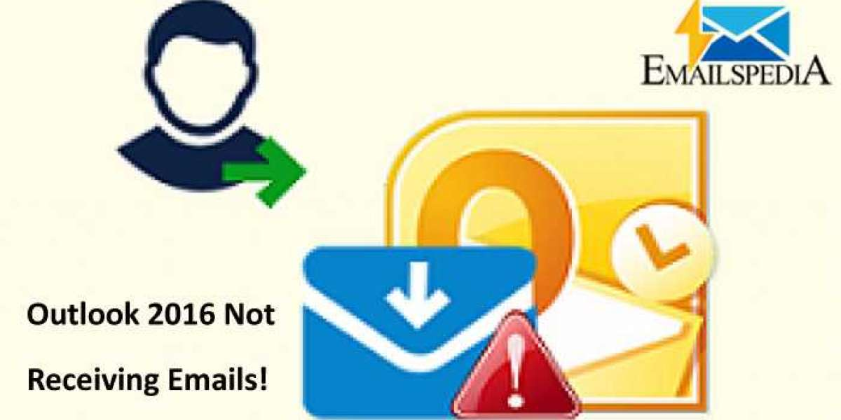 Ways to Solve Outlook 2016 Not Receiving Emails?