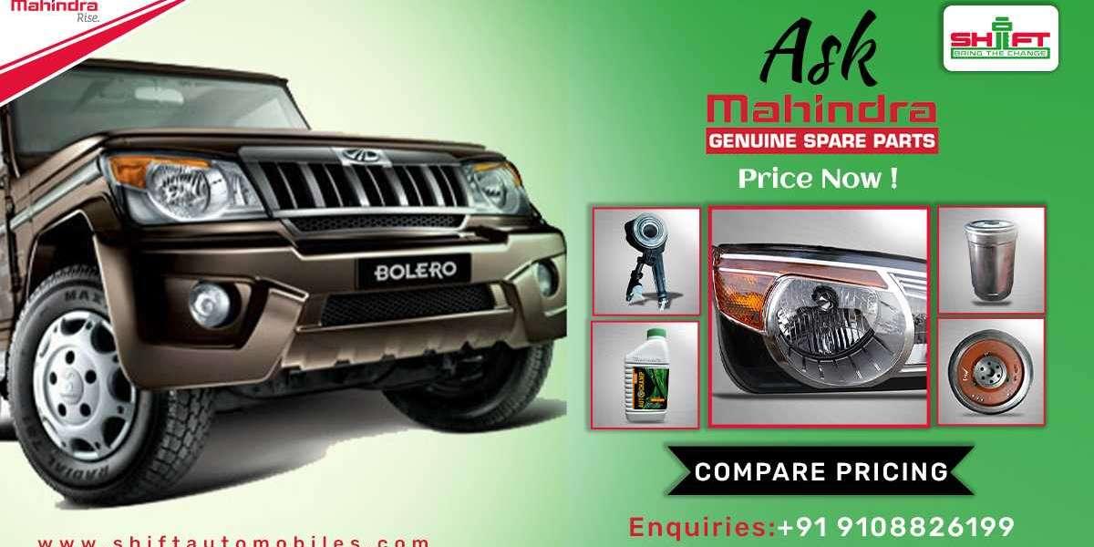 Mahindra Spare Parts - Genuine Mahindra Trucks Parts Online
