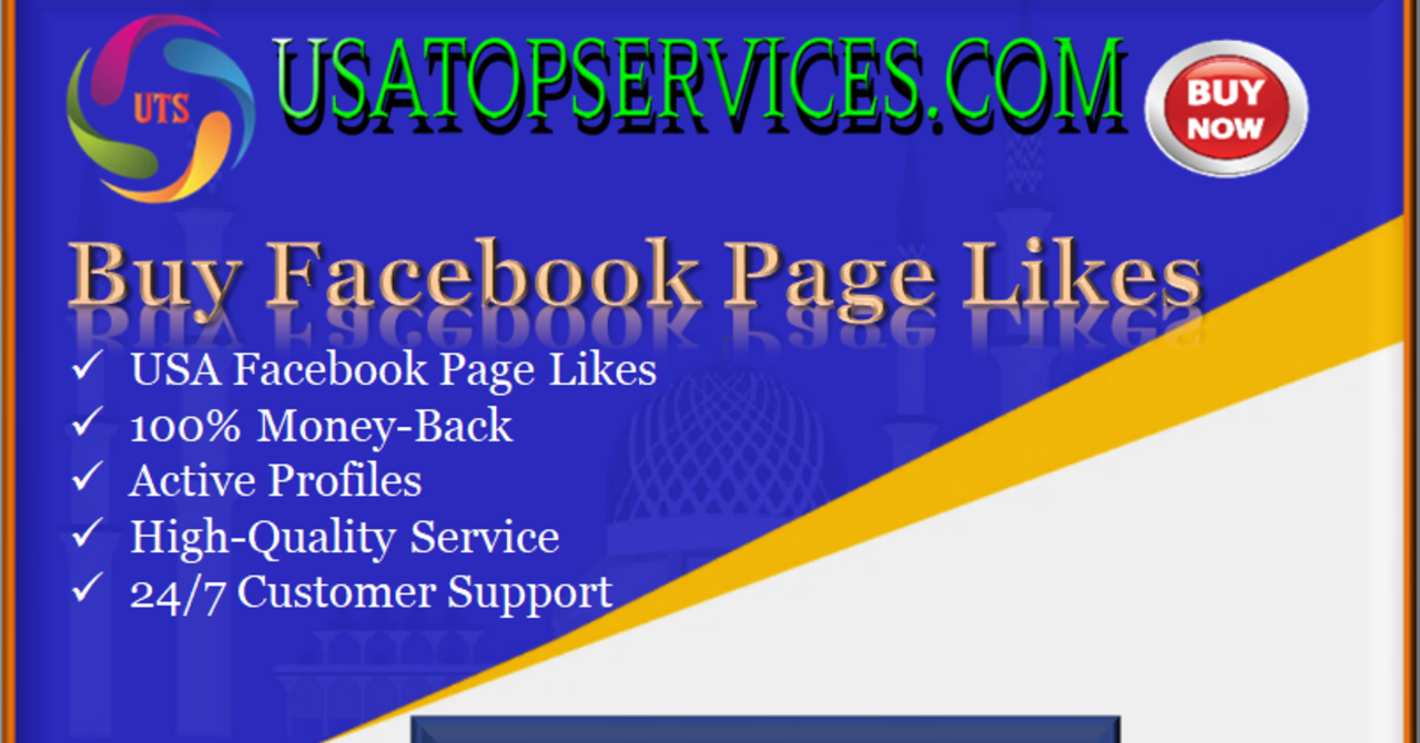 Buy Facebook Page Likes usatopservices note