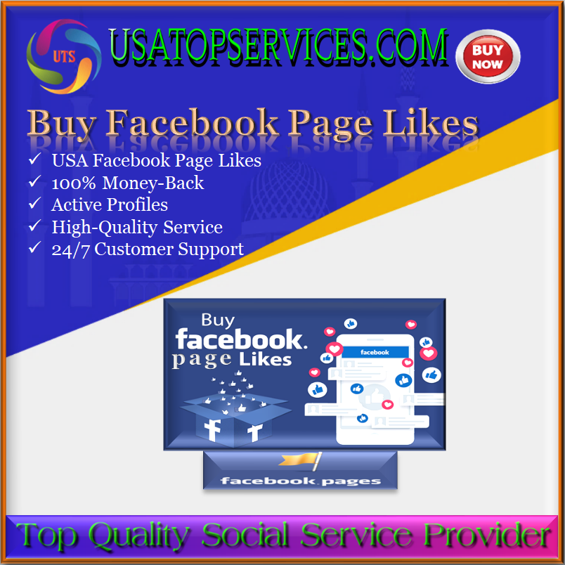 Buy Facebook Page Likes - Facebook Page Likes USA
