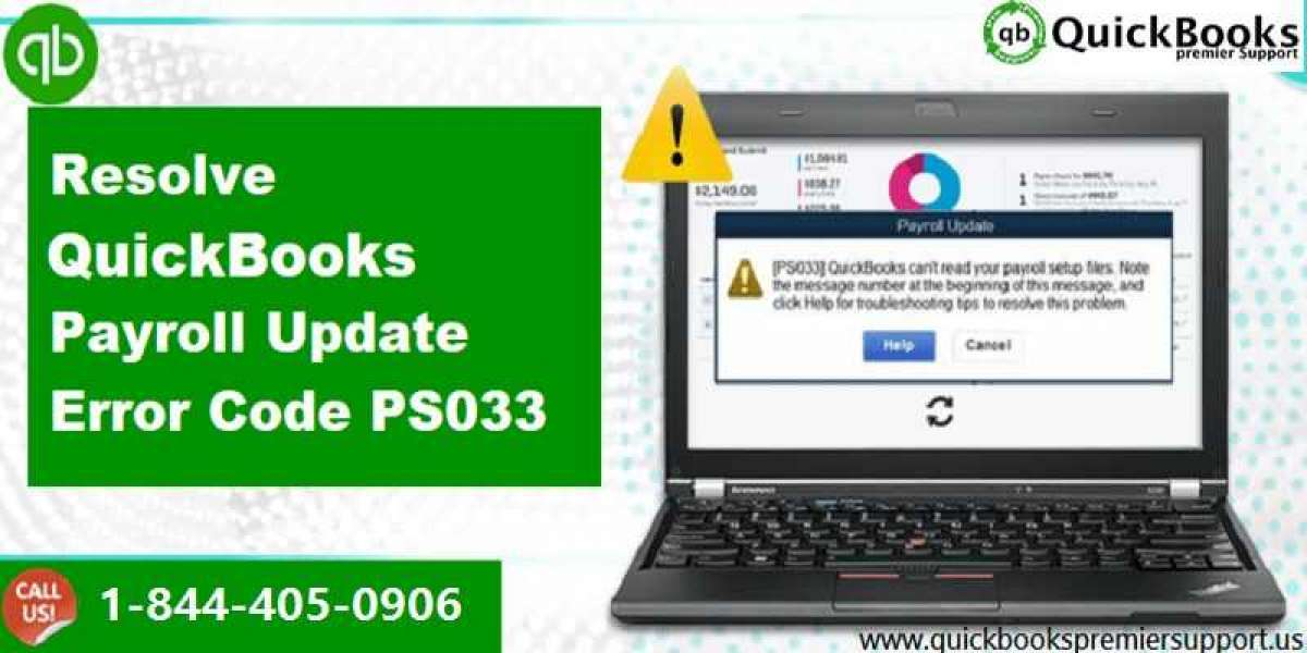How to Recover QuickBooks Payroll Error PS033?