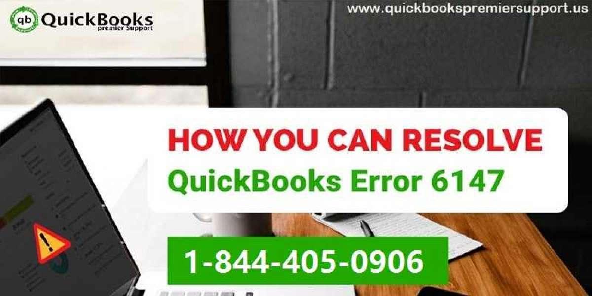 How to Troubleshoot QuickBooks Error Code 6147, 0?