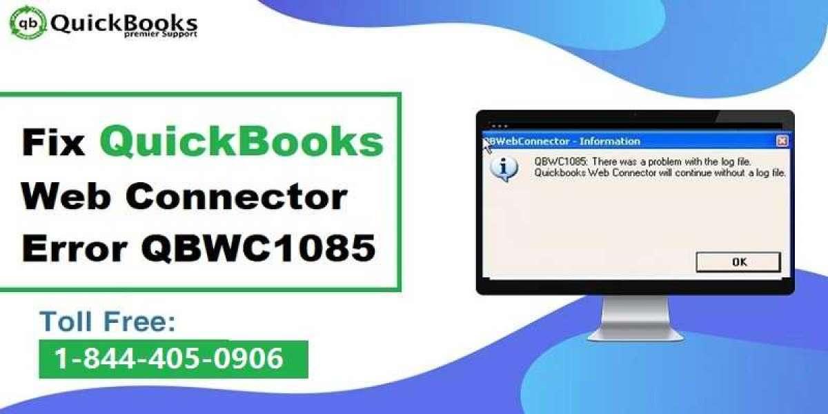 Rectification of QuickBooks Web Connector Error QBWC1085