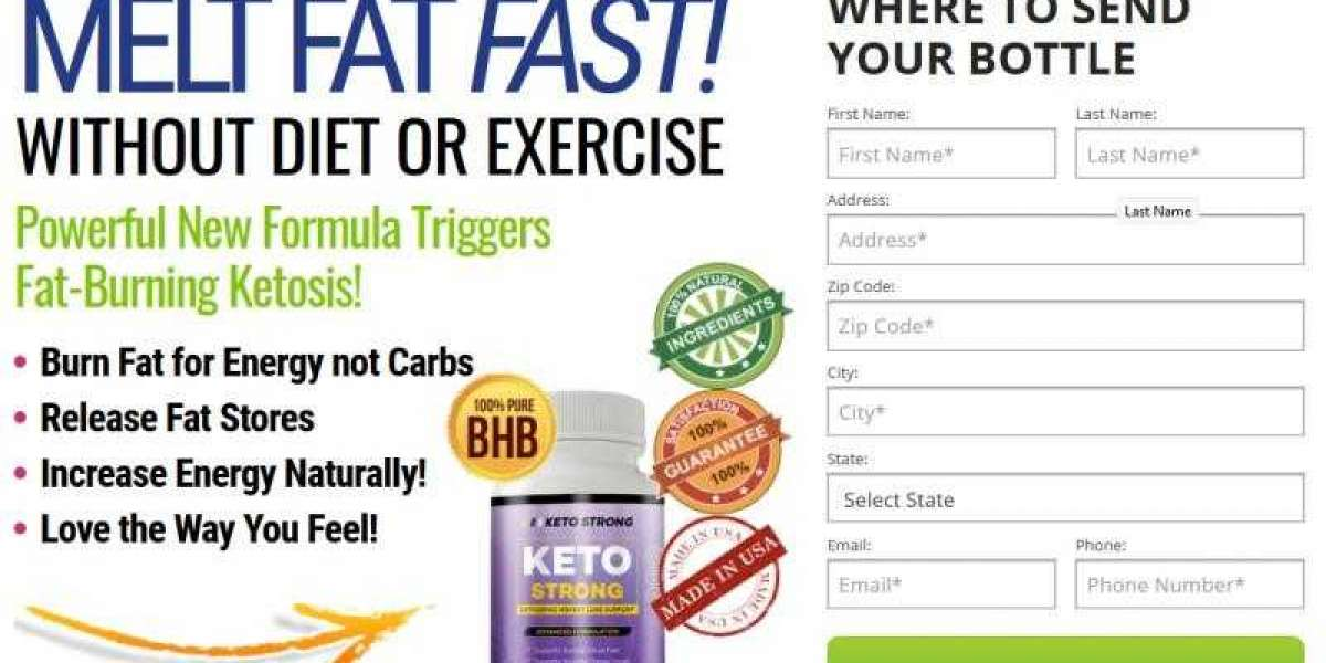Keto Strong Canada– Risky Diet Pills or Ingredients That Work?