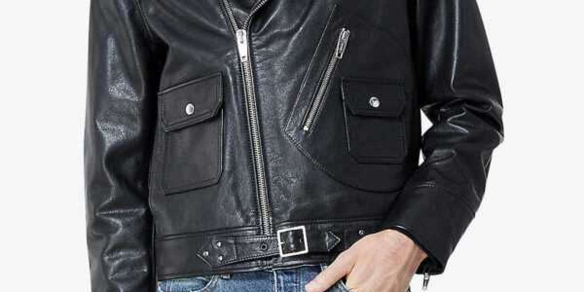 How About Wearing a Fringe Men's leather Jacket?